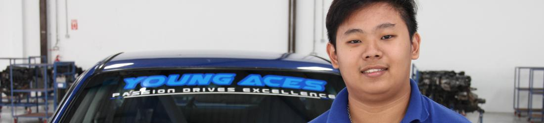 Young Aces Automotive College Student Testimonial
